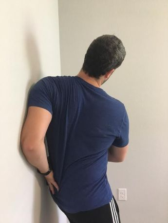 Image result for serratus anterior stretch