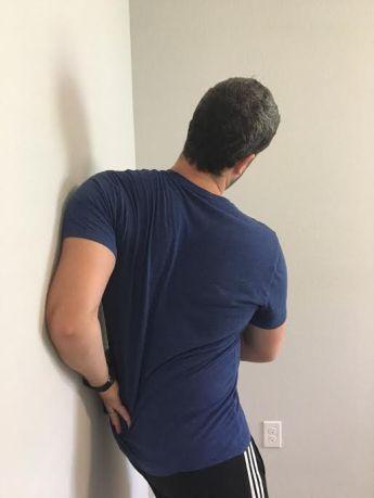 Image result for serratus anterior stretch